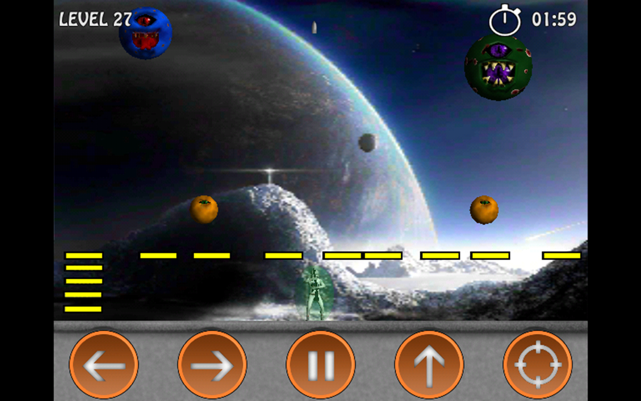 Planet Pang 3D - screenshot