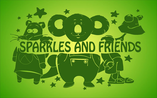 Sparkles and friends