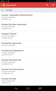 Oracle Sales Cloud Mobile - screenshot thumbnail