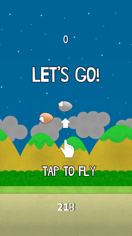 Flying Egg- screenshot