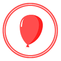 Balloon Fly For Kids icon