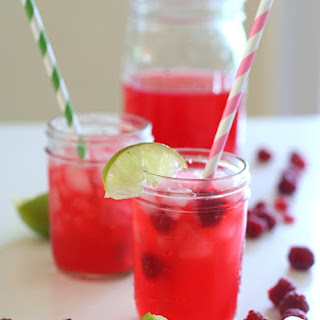 Raspberry Limeade – Low Carb and Gluten Free.