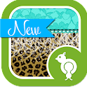 Cheetah & Lace Theme Go Locker icon