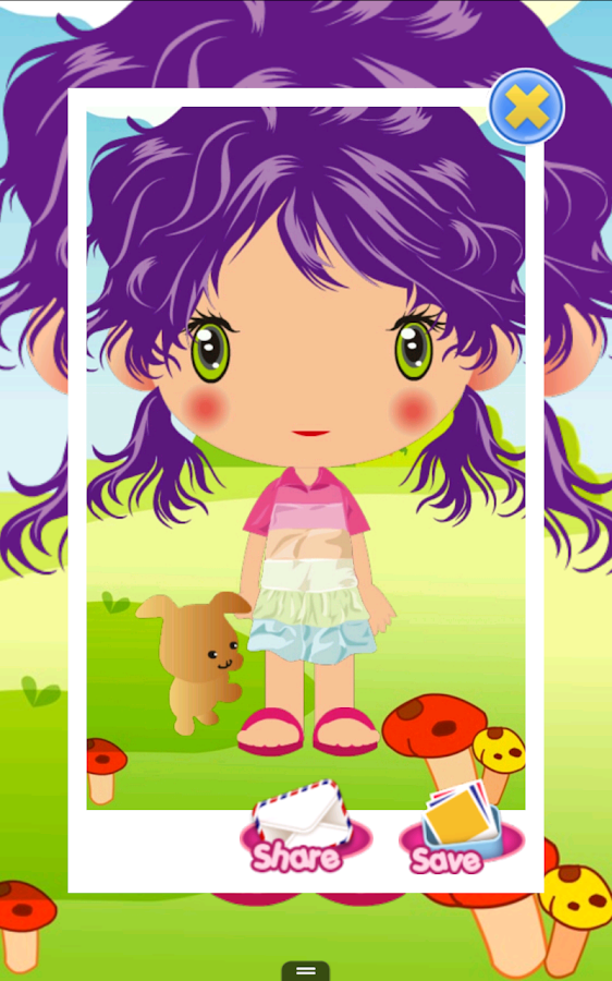 Cute Baby Dress Up - screenshot