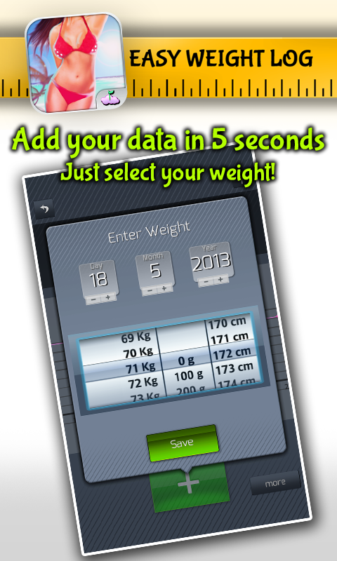 Easy Weight: Tracker & Manager- screenshot