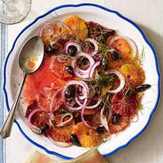 Orange, Anchovy & Olive Salad