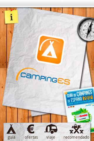 CampingES - screenshot