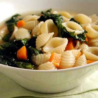 Escarole, Endive, and Pasta Soup