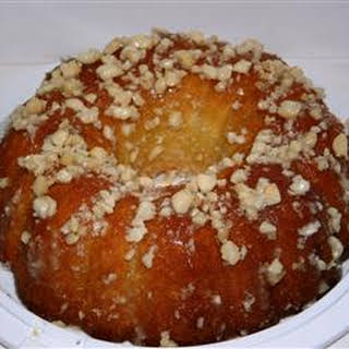 Coconut Pound Cake.