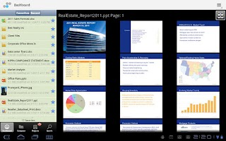 Screenshot of Soonr Workplace for Android
