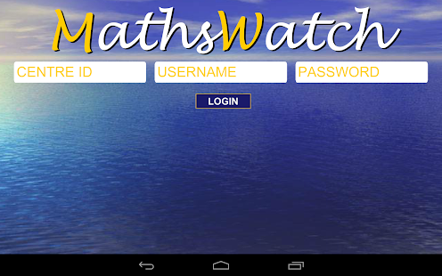 MathsWatch GCSE- screenshot thumbnail
