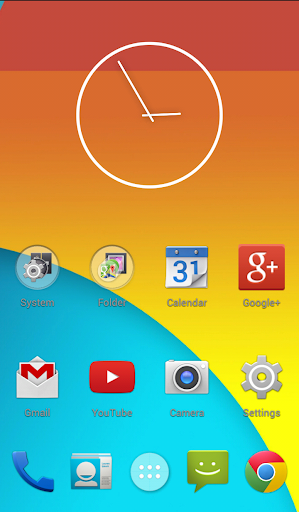 Next Launcher Theme KitKat 4.4