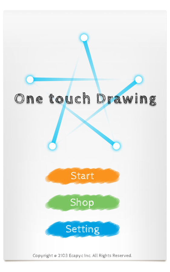 One touch Drawing - screenshot