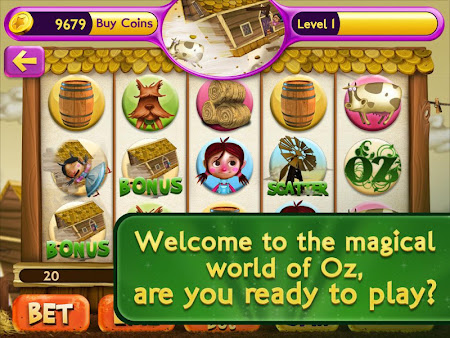Slots Wizard of Oz 1.0.9 screenshot 38139