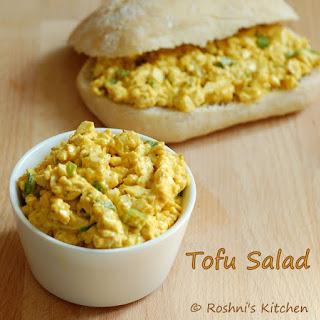 Tofu Salad Sandwich - Egg Salad - Vegan