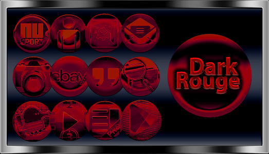 Dark Rouge Icon Pack screenshot 0