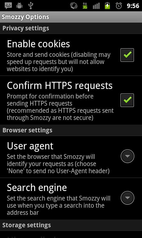 Smozzy Beta - screenshot