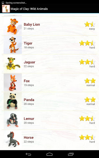 クレイのマジック:野生動物