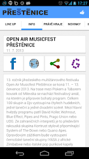 Open Air Musicfest Přeštěnice - screenshot thumbnail