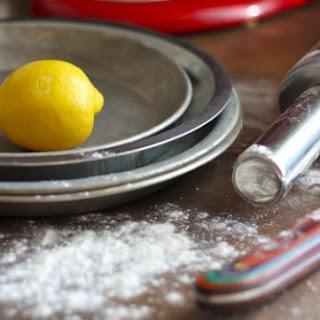 Lemon & Raspberry Tart with Almond Crust