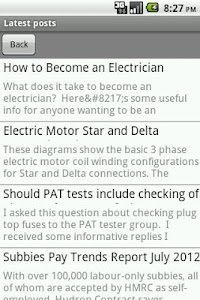 Electrician's Blog screenshot 7