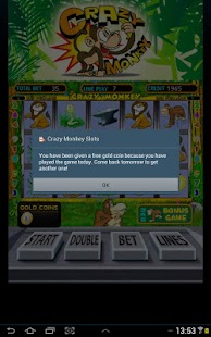 Crazy monkey slot - screenshot thumbnail