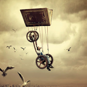 I feel so happy, when I'm on the air by Juprinaldi Photoart  - Digital Art Places