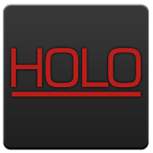 GOWidget - Holo Red KitKat