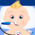 baby hospital games icon