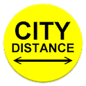 City Distance icon