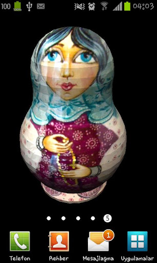 Russian Nested Doll-Matruşka