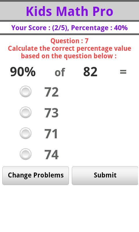 Kids Math Pro- screenshot