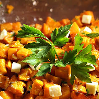 Sweet Potato and Feta Cheese Salad.