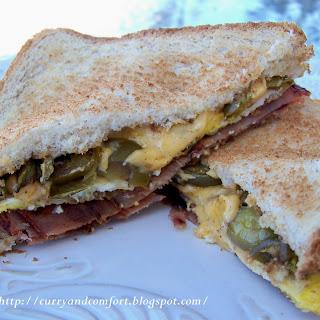300 Calorie Breakfast Sandwich.