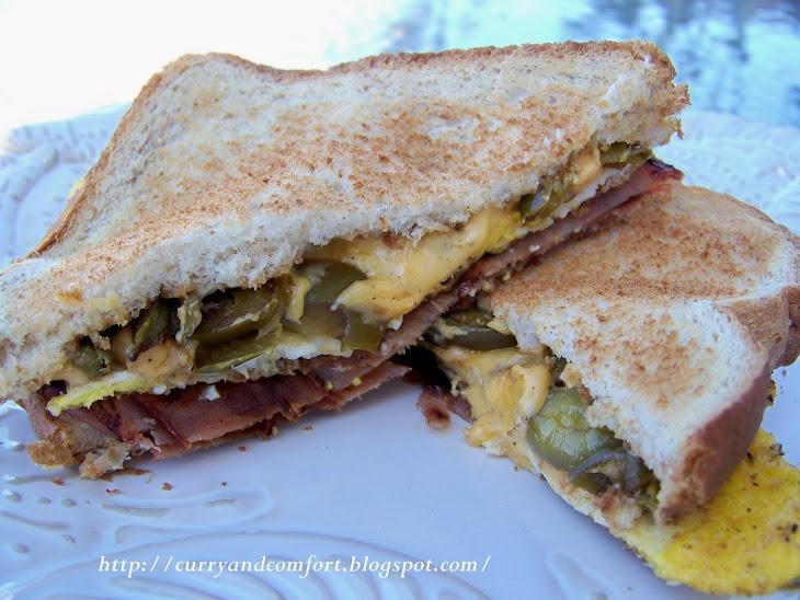 300 Calorie Breakfast Sandwich