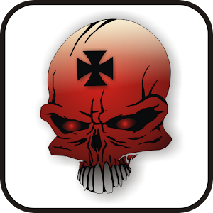 Skull IronCross doo-dad red download