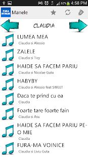 Manele Portalul tau de muzica - screenshot thumbnail