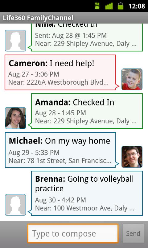 Secondary Family Locator - screenshot