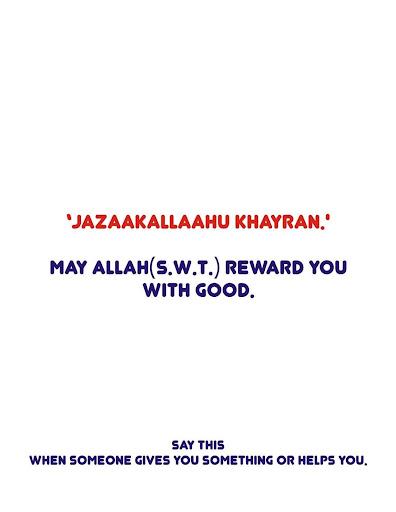 Islamic Etiquette and Duas 1