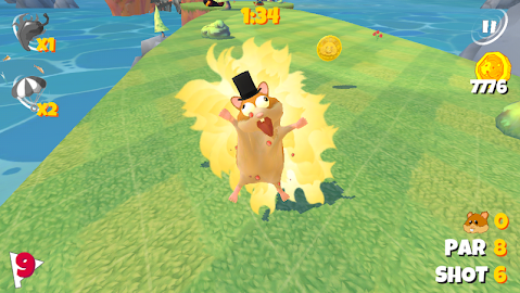 Boom Boom Hamster Golf Screenshot 13