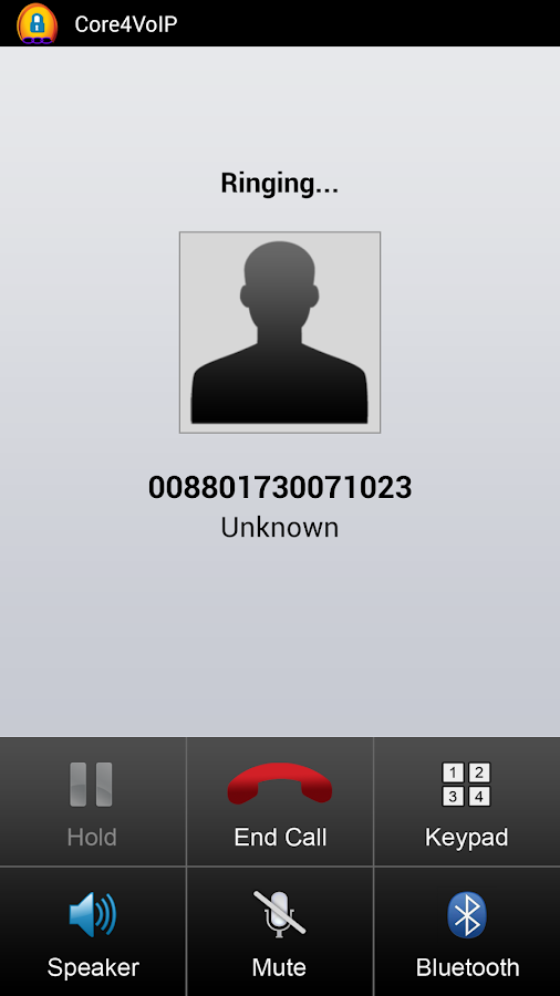 Core4VoIP Mobile Dialer- screenshot