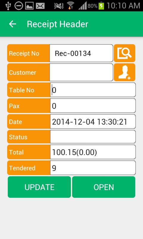 XpressWaiter for POS- screenshot