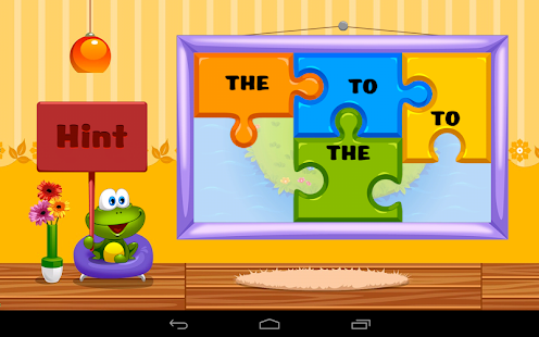 Kids Reading Sight Words Lite screenshot