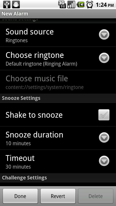 Alarm Clock - screenshot