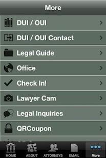 Island Huff Law Office- screenshot thumbnail