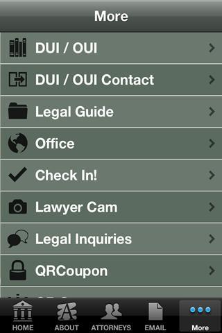 Island Huff Law Office- screenshot