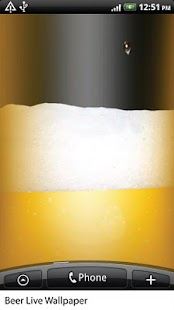 Beer Live Wallpaper HiQ - screenshot thumbnail