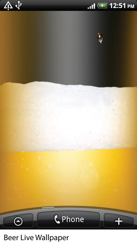 Beer Live Wallpaper HiQ- screenshot