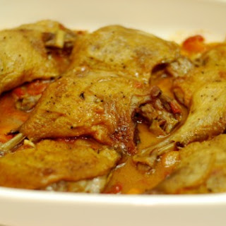 Crispy Braised Duck Legs