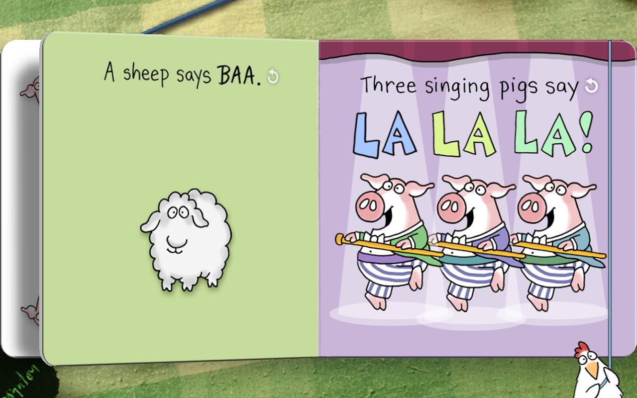 Moo, Baa, La La La! - A Boynton Interactive Story- screenshot